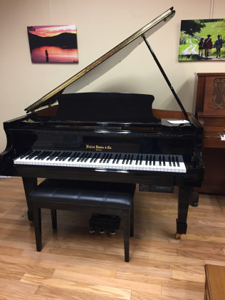 Hallet Davis Baby Grand Player Piano